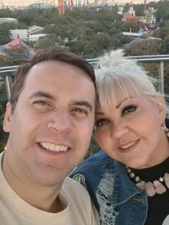 La Gorda Fabiola y Polilla