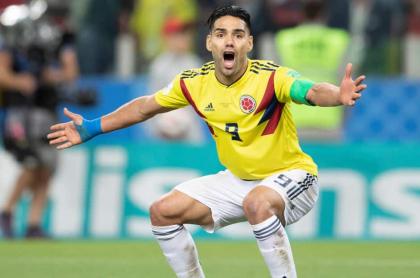 Falcao García, capitán de la Selección Colombia