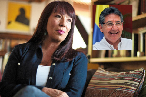 María Jimena Duzán y Néstor Humberto Martínez