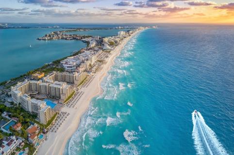 Playa de Cancún, México