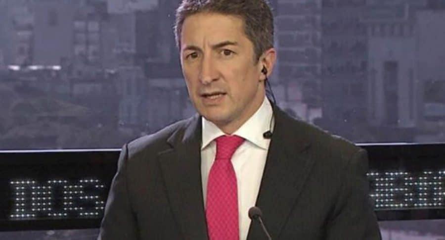Adrián Ventura, reportero del canal argentino Todo Noticias