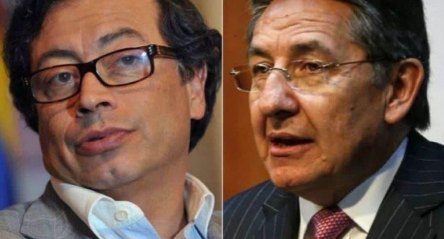 Gustavo Petro y Néstor Humberto Martínez
