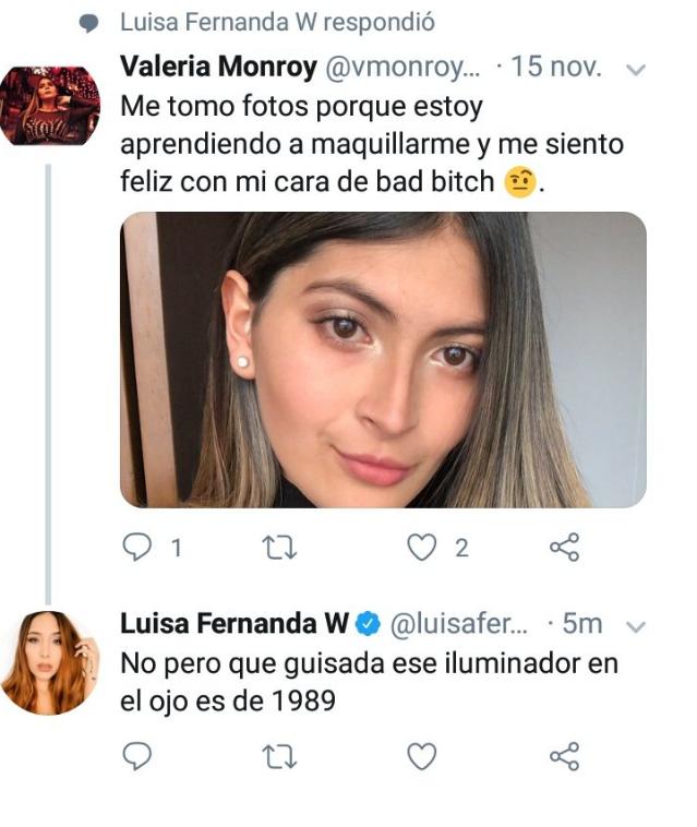 Tuit de Luisa Fernanda W