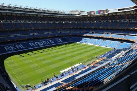 Estadio Santiago Bernabéu de Madrid, España