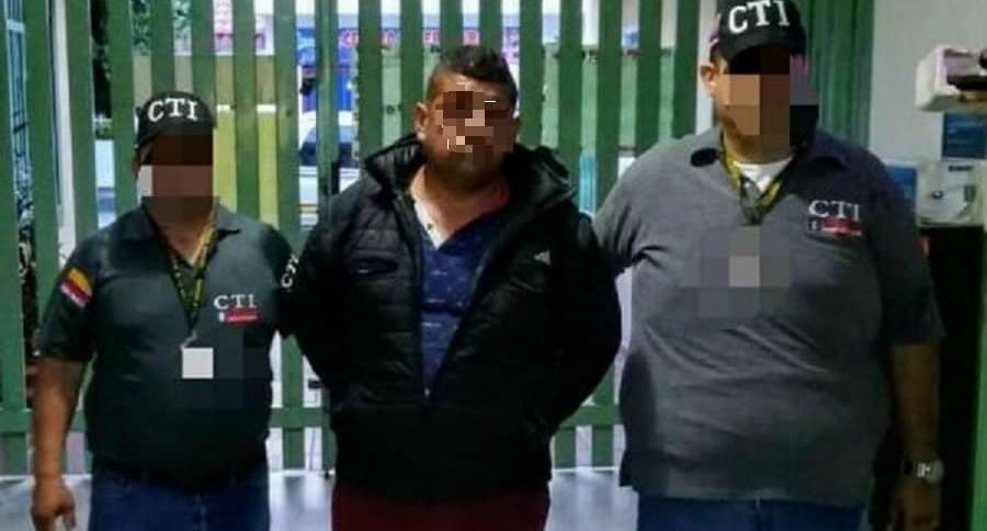 Luis Fernando Rueda Montoya, capturado