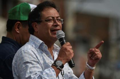 Gustavo Petro, exalcalde y senador.