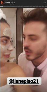 Captura de pantalla Anitta y 'Llane'