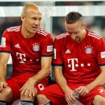 Arjen Robben y Frank Ribery