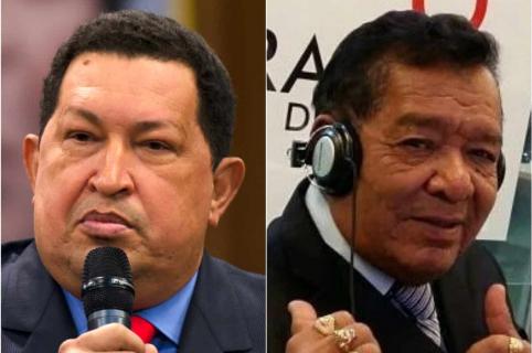 Hugo Chávez y Pastor López