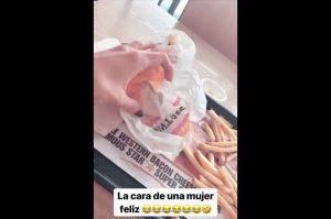 Historia de Instagram de Melina Ramírez