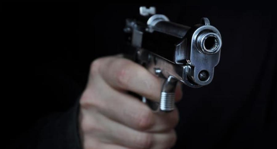Persona con un arma