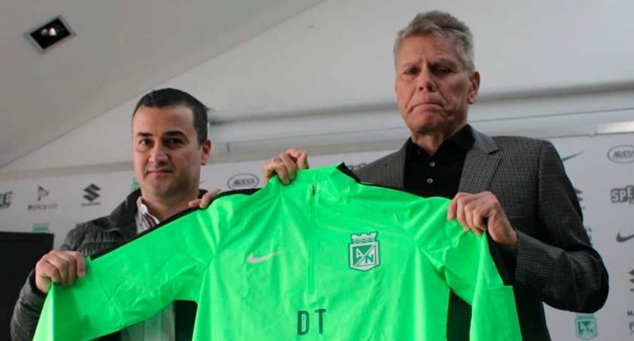 Juan David Pérez y Paulo Autuori