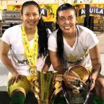 Jay Oliveros y Yoreli Rincón