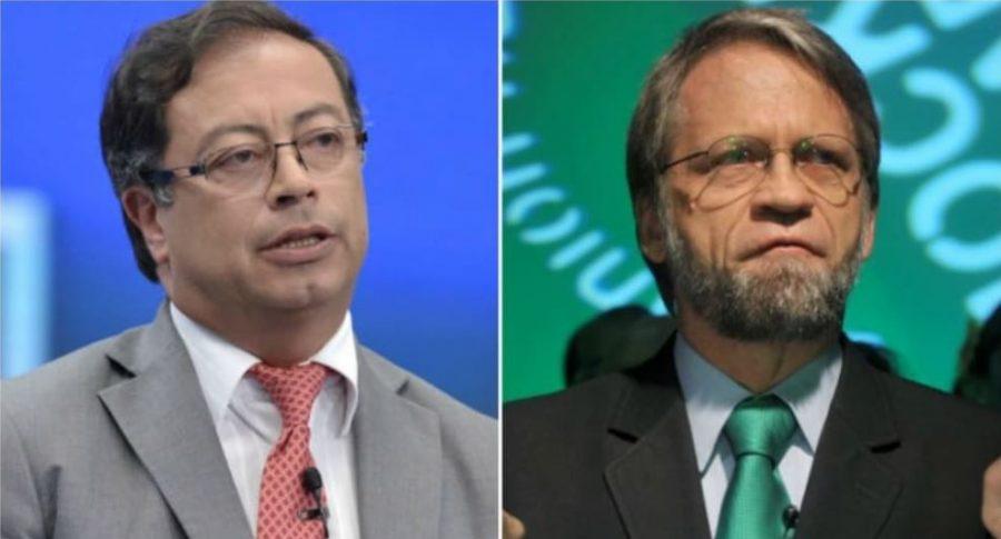 Gustavo Petro y Antanas Mockus