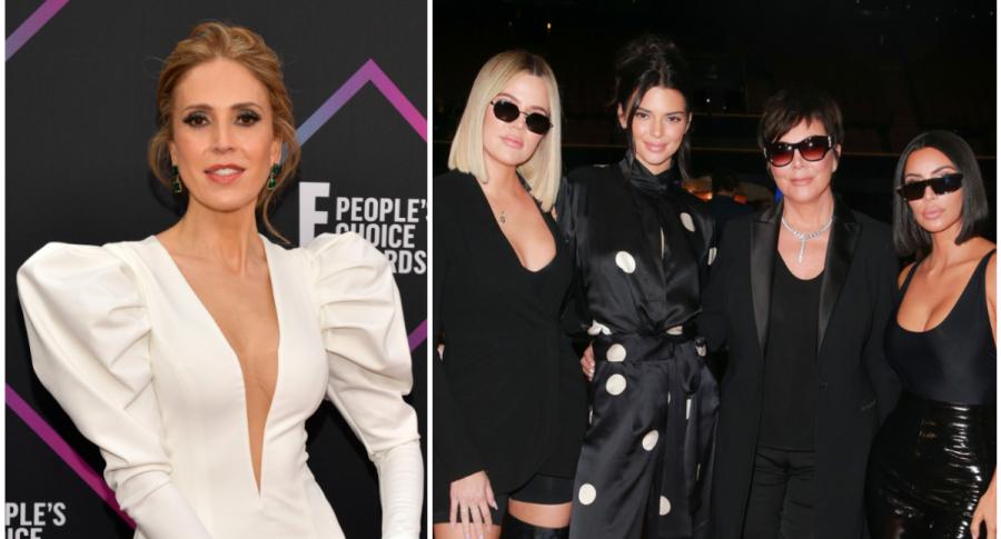 Alejandra Azcárate, Khloé Kardashian, Kendall Jenner, Kris Jenner y Kim Kardashian