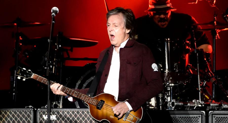 Paul McCartney se presentó en octubre en el festival Austin City Limits