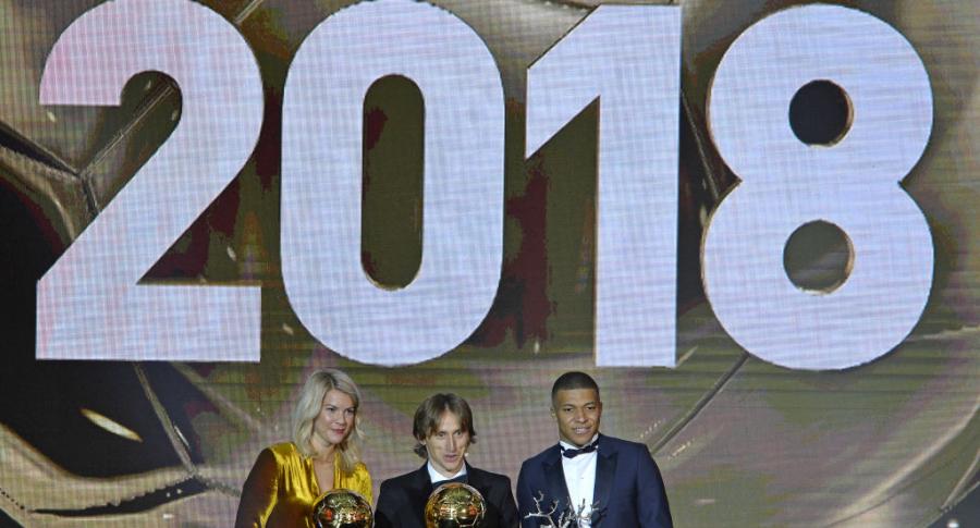 Ganadores del Balón de Oro 2018