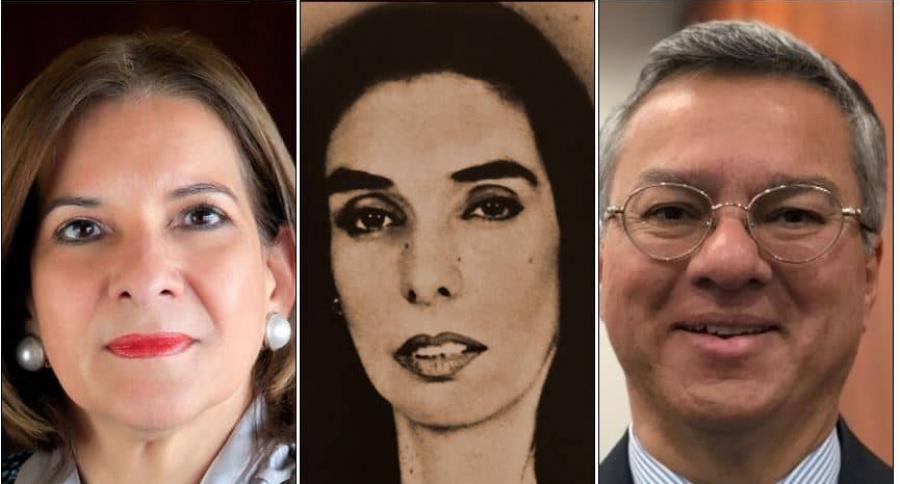 Margarita Cabello Blanco, Clara María González Zabala y Leonardo Espinosa Quintero