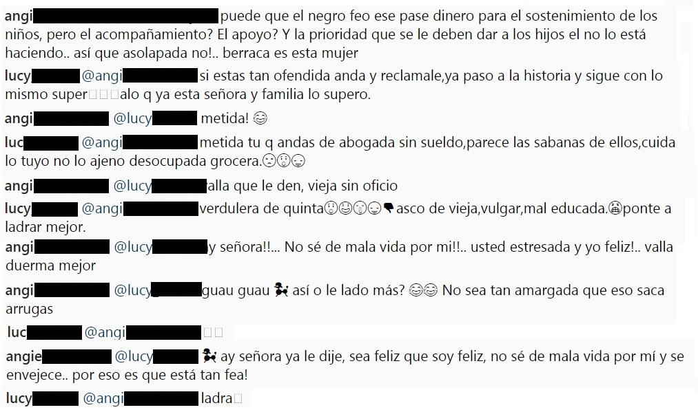 Pelea entre seguidoras de Andreina Fiallo por polémica alrededor de Fredy Guarín