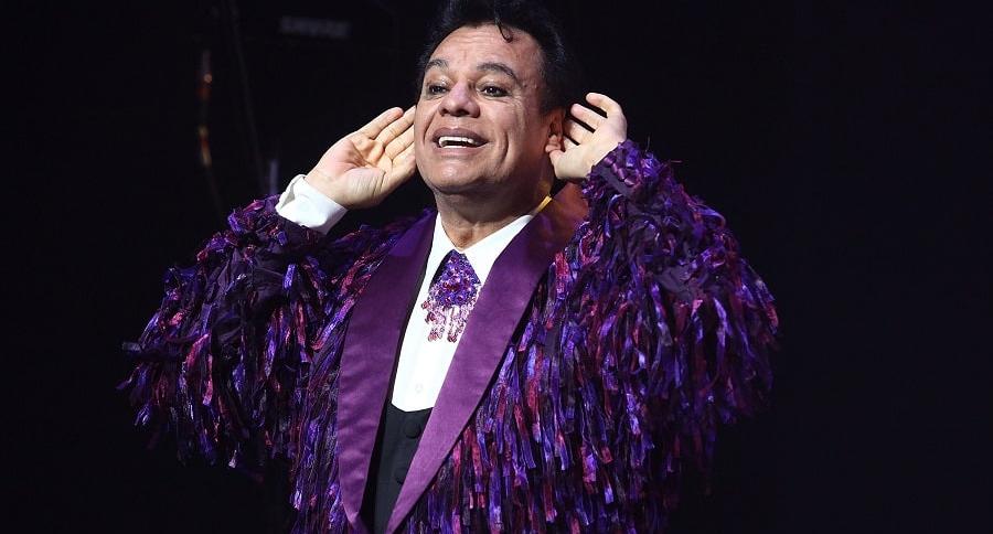 Juan Gabriel en concierto en Los Ángeles