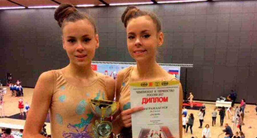 Gemelas rusas anoréxicas.
