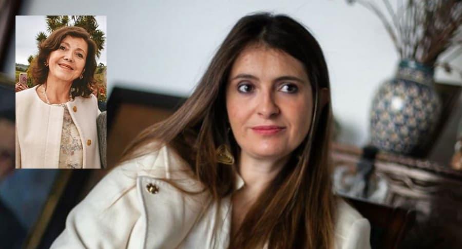Paloma Valencia y Dorotea Laserna