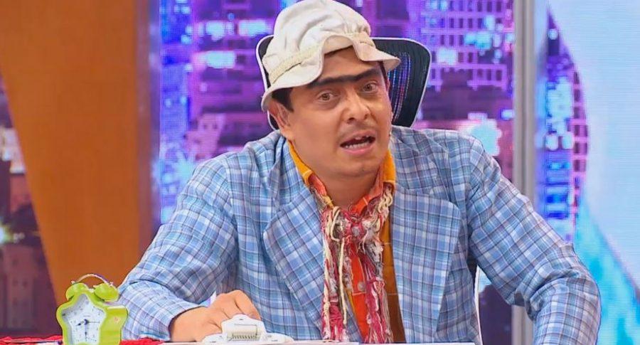 Dany Hoyos personificado como 'Suso'.