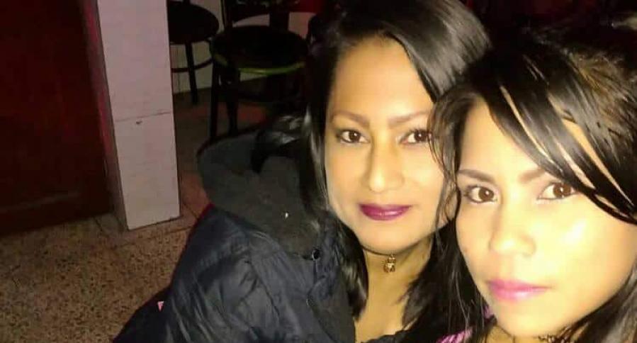 Sandra y Elizabeth Yara Otavo (de izquierda a derecha)