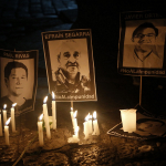Homenaje a periodistas ecuatorianos asesinados en Colombia