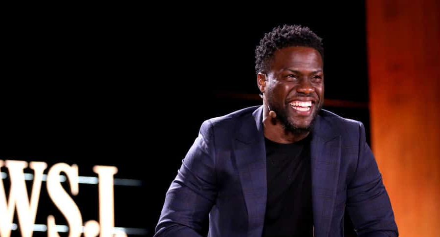 Kevin Hart en un evento de The Wall Streen Journal en Laguna Beach