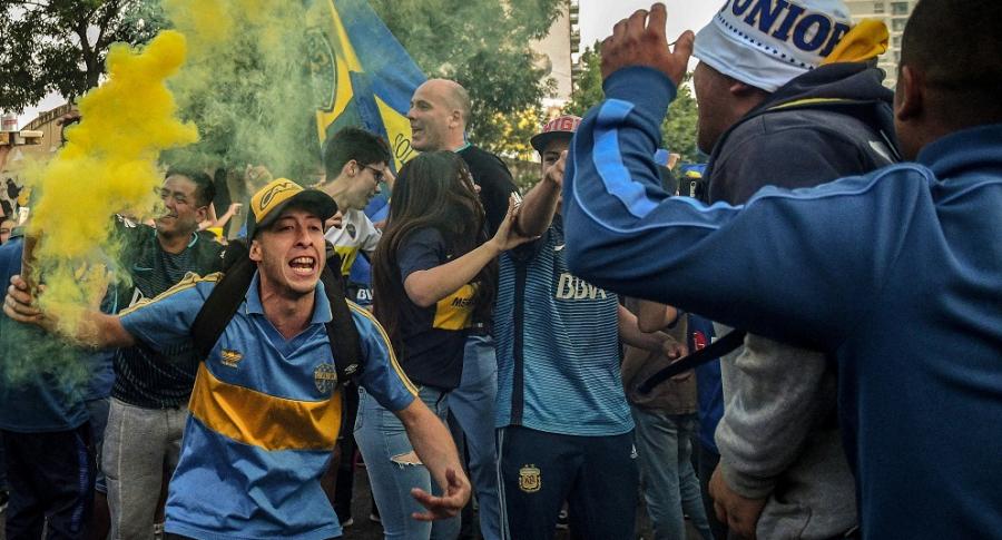 Hinchas de Boca Juniors