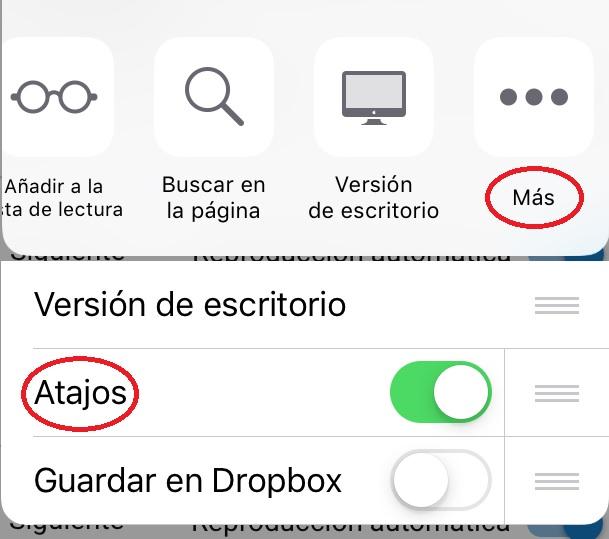 Atajos de iOS 12