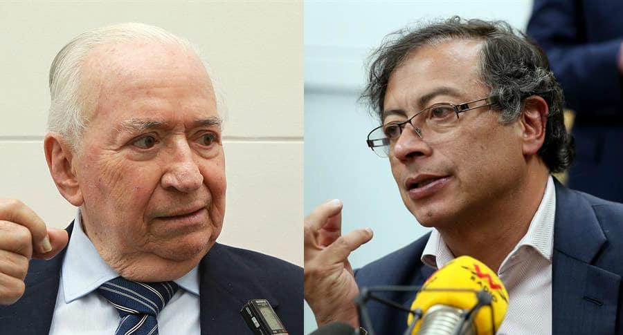 Belisario Betancur y Gustavo Petro