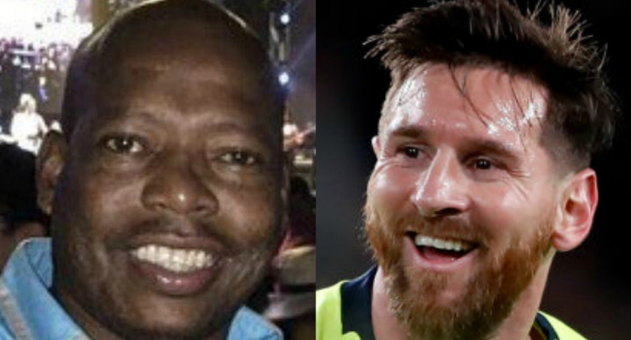 'Tino' Asprilla y Lionel Messi