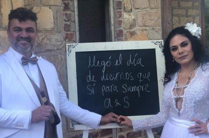 Alejandro Torres y Sandra Guzmán