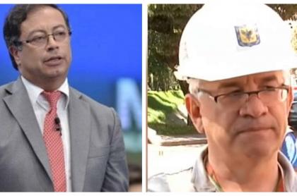Gustavo Petro y Juan Carlos Montes