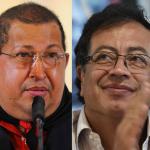 Hugo Chávez y Gustavo Petro