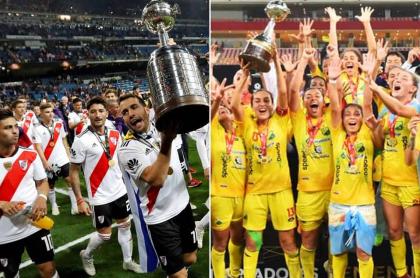 River Plate y Huila Femenino
