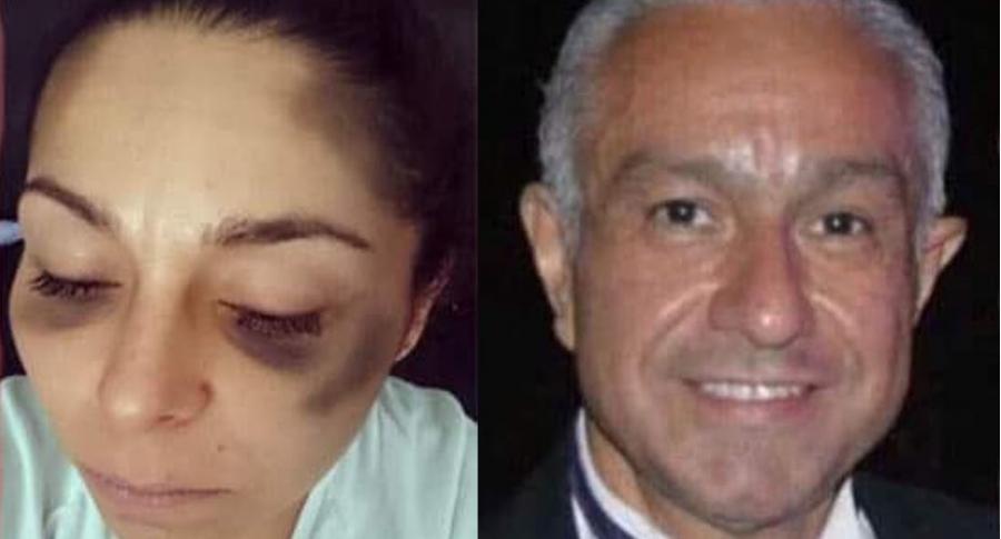 Pilar Lozano y Humberto Flores Alfaro