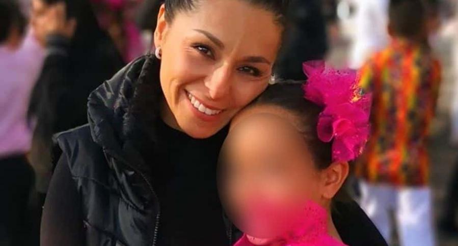 Pilar Lozano y su hija