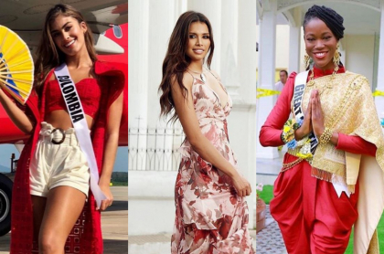 La Señorita Colombia Como Una Orquídea Y Más Trajes Típicos De Miss