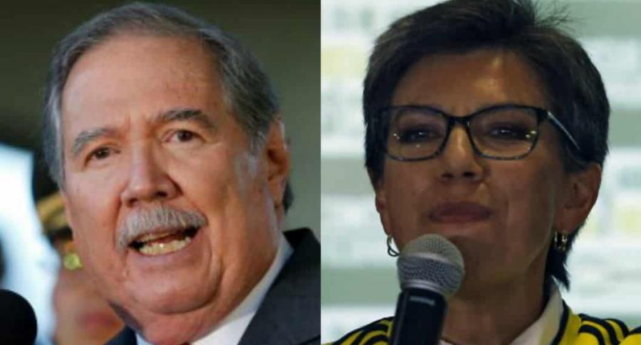 Guillermo Botero y Claudia López