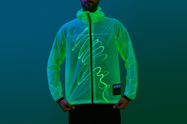A Jacket That Glows in the Dark