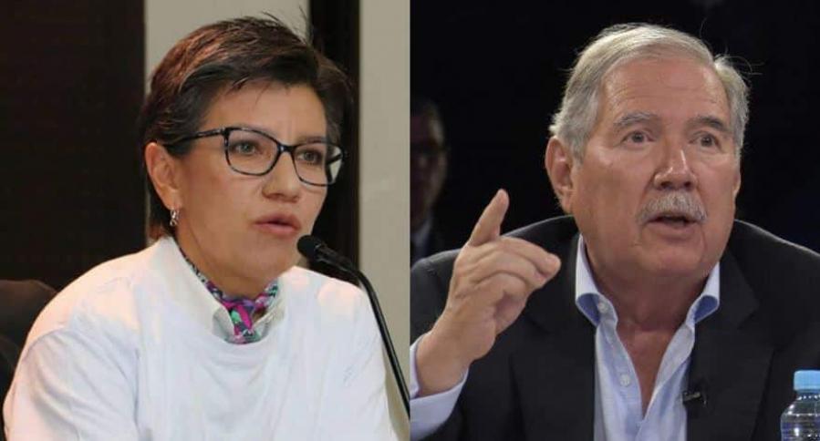 Claudia López y Guillermo Botero