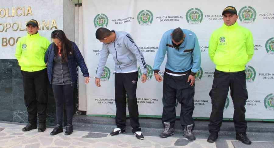 Banda que robaba supermercados en Bogotá, 'Los rapiños'