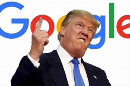 Resultado de imagen para trump y google