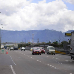 Control de velocidad de Policía de Tránsito de Bogotá