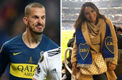 Dario Benedetto y su novia