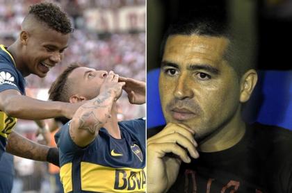 Wilmar Barrios, Edwin Cardona y Juan Román Riquelme