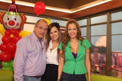 Jota Mario, Milena López y Laura Acuña